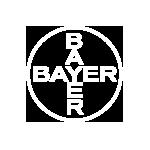 Logo Bayer weiß