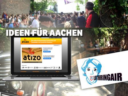 NUFARI sucht Ideen für Kunst und Kultur in Aachen
